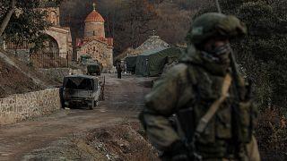 Armenia y Azerbaiyán y Rusia fimaron un acuerdo el 10 de noviembre para poner fin al conflicto militar sobre la región de Nagorno Karabaj.