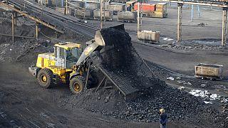 Çin'de kömür madeni