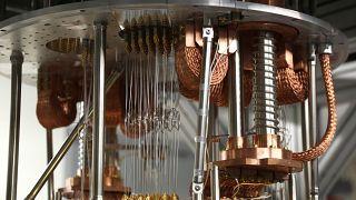 Arşiv / IBM'in kuantum bilgisayar prototipi