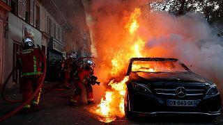 تظاهرات در پاریس
