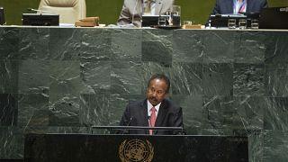 رئيس الوزراء السوداني للحكومة الانتقالية عبدالله حمدوك