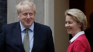نخست وزیر بریتانیا و رئیس کمیسیون اروپا