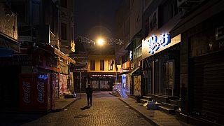 Kihalt isztambuli utca