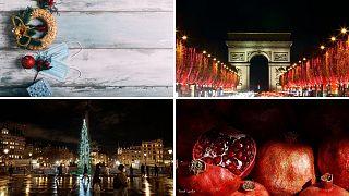 آماده شدن برای کریسمس در کشورهای اروپایی و شب یلدا در ایران