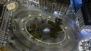 Площадь Вёрёшмарти в 2020 году: рождественская ярмарка пройдет онлайн