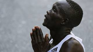 Kibiwott Kandie smashes half-marathon world record in Valencia, runs 57:32