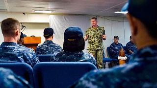ساموئل پاپارو، مقام ارشد نیروی دریایی ایالات متحده آمریکا