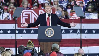 Donald Trump a szombati kampányrendezvényen Georgia államban