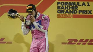 Formula-1: Segio Pérez nyerte a Szahiri Nagydíjat