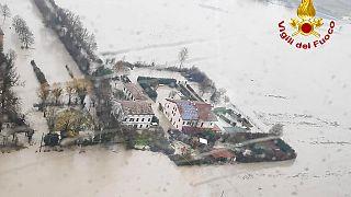 Zwei Tote bei Überschwemmungen in Italien