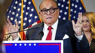 Rudy Giuliani am 19. November 2020