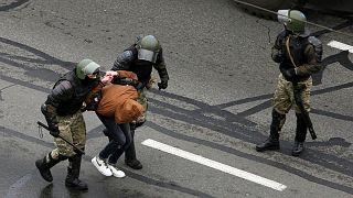 بازداشت یکی از شرکتکنندگان در تظاهرات ماه نوامبر مخالفان دولت بلاروس