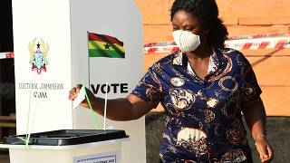 Ghana votes in tight presidential election