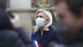 Ulusal Birlik Partisi Genel Başkanı Marine Le Pen