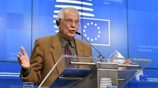 جوزيب بوريل،  الممثل الأعلى للشؤون الخارجية والسياسة الأمنية في الاتحاد الأوروبي