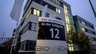 دفتر مرکزی شرکت داروسازی بیونتک در آلمان