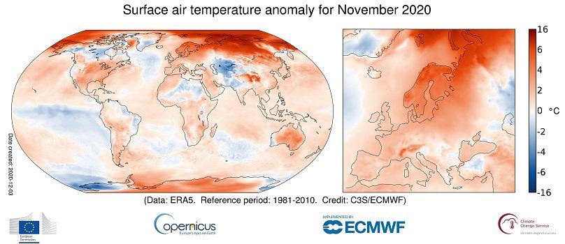 ECMWF Copernicus Climate Change Service