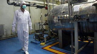 یکی از تاسیسات هستهای ایران