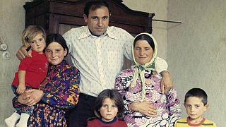 Ugur Şahin'in ailesi olduğu iddia edilen fotoğraf