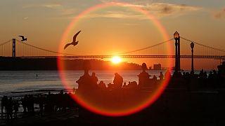 """Sol de novembro pode ter """"empurrado"""" 2020 para um recorde de calor"""