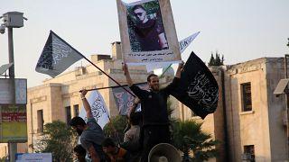 Акция памяти Абдуллаха Анзорова в Сирии
