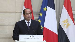 Egyptian President Calls Out the Western Media on His Visit to France