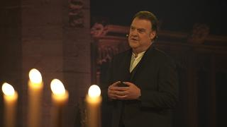"""Silence, serenity and peace"": Sir Bryn Terfel's Christmas message"