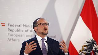 Austrian Foreign Minister Alexander Schallenberg