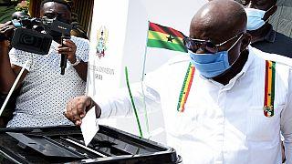 Ghana : Duel aux urnes entre les principaux candidats