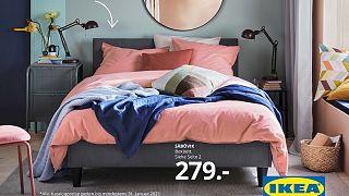 Ausschnitt aus dem Cover des letzten Ikea-Katalogs für das Jahr 2021