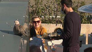 Les terrasses des restaurants ouvertes à Monaco
