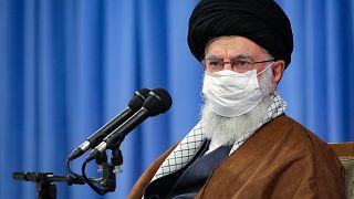 آية الله علي خامنئي في طهران