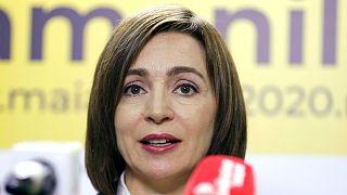 Maia Sandu, az új moldáv elnök