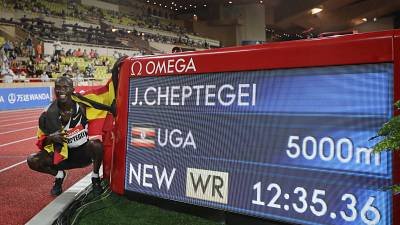 Uganda's Joshua Cheptegei misses World Athlete of the year crown