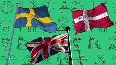 The top three countries in the ranking were Sweden, the UK and Denmark.