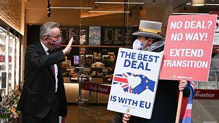 الوزير البريطاني مايكل غوف