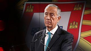 Marcelo rebelo de Sousa na corrida a um segundo mandato em Belém