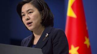 "Foreign ministry spokesperson Hua Chunying said China will ""take resolute and forceful countermeasures""."