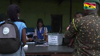 Ghana elections: Vote counting underway amid heavy security
