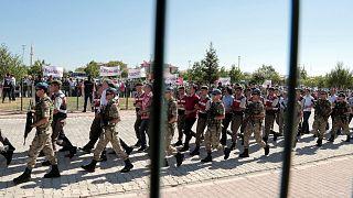 عکس آرشیوی از دستگیری مظنونان به ارتباط با کودتای نافرجام ترکیه