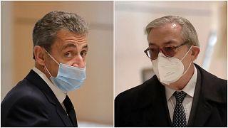 ساركوزي والقاضي جيلبرت أزيبير