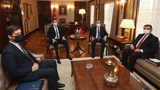 Macaristan Dışişleri Bakanı Szijjarto, Ankara'da mevkidaşı Çavuşoğlu ile bir araya geldi