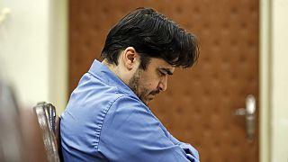 İdam cezasına çarptırılan muhalif gazeteci Rohullah Zam.