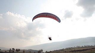 ویدئو؛ پرواز با پاراگلایدرهای موتوردار ورزش جدید جوانان اقلیم کردستان