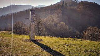 مسلة على تل باتكا دوامني ، شمال رومانيا