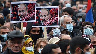 Ermenistan'da Paşinyan karşıtı protestolar
