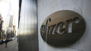 مقر فايزر العالمي في نيويورك. 2009/01/25
