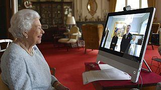 II. Erzsébet 2020 decemberében