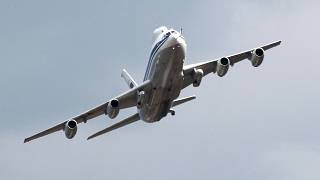 A Russian IL-80 plane pictured during 100th-anniversary celebrations of the country's air force in 2012.