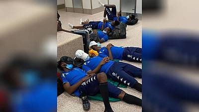 AFCON 2021: Gambia fined for letting Gabonese team sleep on airport floor